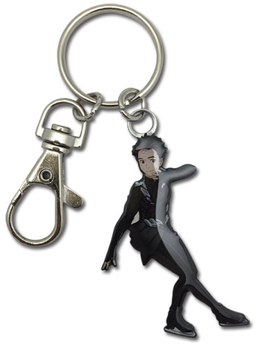 Yuri On Ice!!! - Yuri Metal Keychain, an officially licensed product in our Yuri!!! On Ice Key Chains department.