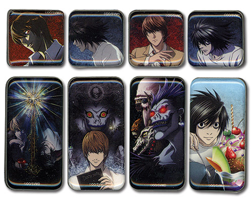 Death Note Magnet Set, an officially licensed Death Note Magnet
