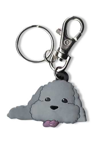 Yuri On Ice!!! - Makkachin Pose 1 Pvc Keychain, an officially licensed product in our Yuri!!! On Ice Key Chains department.
