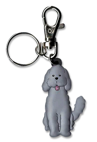 Yuri On Ice!!! - Makkachin Pose 2 Pvc Keychain, an officially licensed product in our Yuri!!! On Ice Key Chains department.