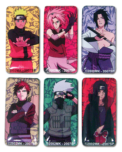 Naruto Shippuden Magnet Set, an officially licensed product in our Naruto Shippuden Magnet department.