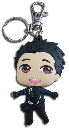 Yuri On Ice!!! - Yuri Sd Pvc Keychain, an officially licensed product in our Yuri!!! On Ice Key Chains department.