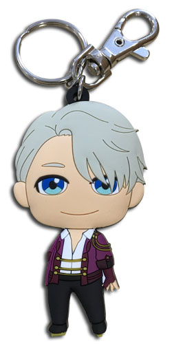 Yuri!!! On Ice - Victor Sd Pvc Keychain, an officially licensed product in our Yuri!!! On Ice Key Chains department.