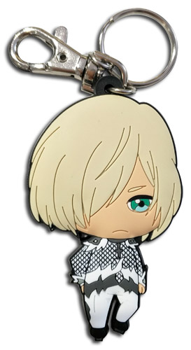 Yuri On Ice!!! - Yurio Sd Pvc Keychain, an officially licensed product in our Yuri!!! On Ice Key Chains department.