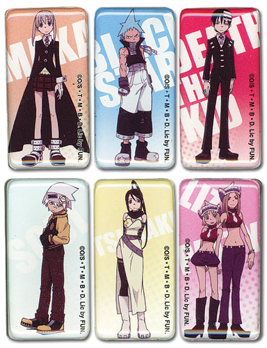 Soul Eater Magnet Set, an officially licensed product in our Soul Eater Magnet department.