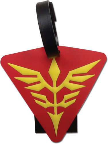 Gundam Uc - Neo Zeon Luggage Tag officially licensed Gundam Uc Costumes & Accessories product at B.A. Toys.