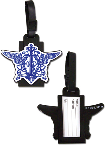 Black Butler - The Phantomhive Family Crest Luggage Tag officially licensed Black Butler Costumes & Accessories product at B.A. Toys.