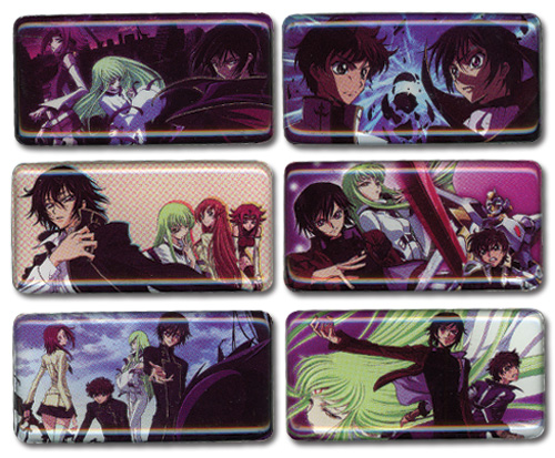 Code Geass Magnet Set, an officially licensed Code Geass Magnet