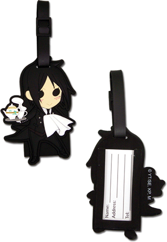 Black Butler - Sd Sebastian Luggage Tag, an officially licensed Black Butler product at B.A. Toys.