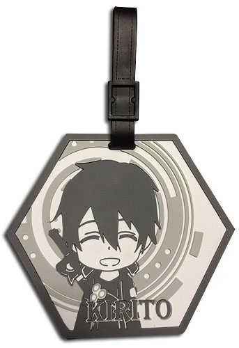 Sword Art Online - Kirito Sd Luggage Tag officially licensed Sword Art Online Costumes & Accessories product at B.A. Toys.