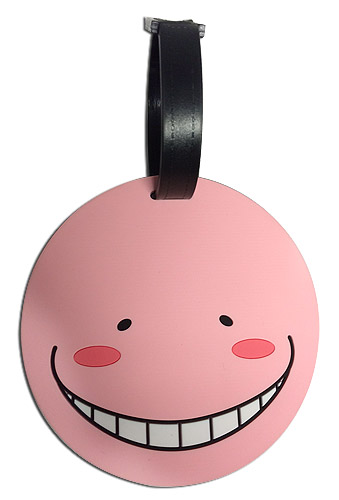 Assassination Classroom - Relax Koro Sensei Luggage Tag, an officially licensed product in our Assassination Classroom Costumes & Accessories department.