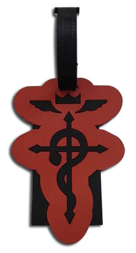 Fullmetal Alchemist - Edward Luggage Tag officially licensed Fullmetal Alchemist Costumes & Accessories product at B.A. Toys.
