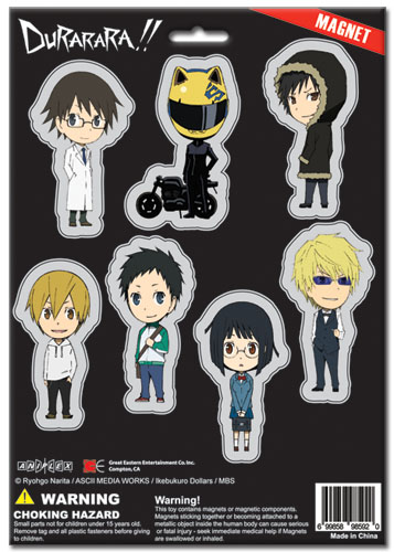 Durarara!! Sd Magnet Sheet, an officially licensed product in our Durarara!! Magnet department.