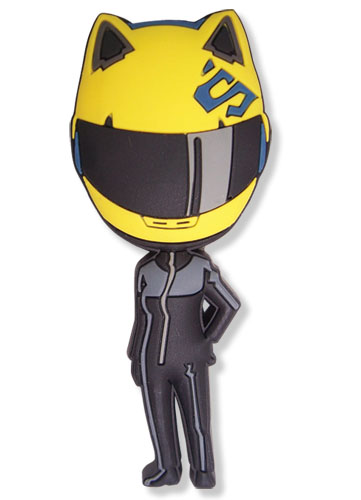 Durarara!! Celty Pvc Magnet, an officially licensed product in our Durarara!! Magnet department.