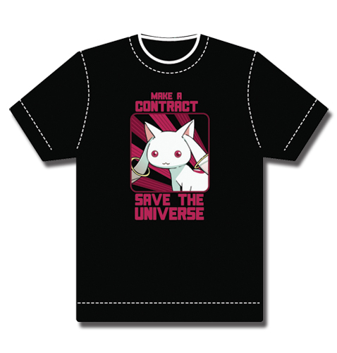 Madoka Magica Kyubei T-Shirt L, an officially licensed product in our Madoka Magica T-Shirts department.