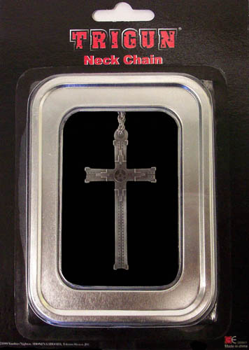 Trigun Cross Necklace, an officially licensed product in our Trigun Jewelry department.