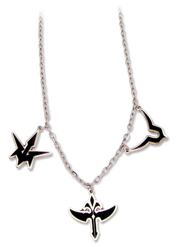 Code Geass Three Symbols Necklace, an officially licensed product in our Code Geass Jewelry department.