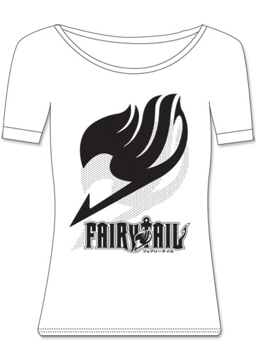Fairy Tail Insignia Girl T-Shirt S, an officially licensed product in our Fairy Tail T-Shirts department.