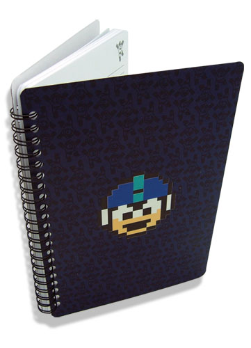 Megaman 10 Mega Man Notebook, an officially licensed product in our Mega Man Stationery department.