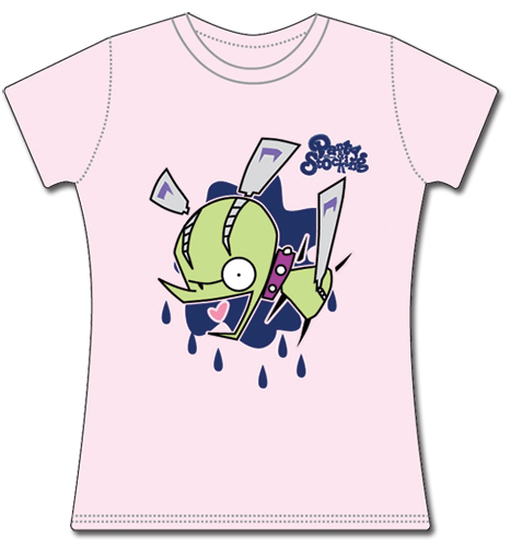 Panty & Stocking Chuck Jrs T-Shirt L officially licensed Panty & Stocking T-Shirts product at B.A. Toys.