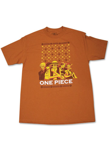One Piece Group T-Shirt S, an officially licensed product in our One Piece T-Shirts department.