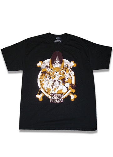 One Piece King Of Pirates T-Shirt S, an officially licensed product in our One Piece T-Shirts department.