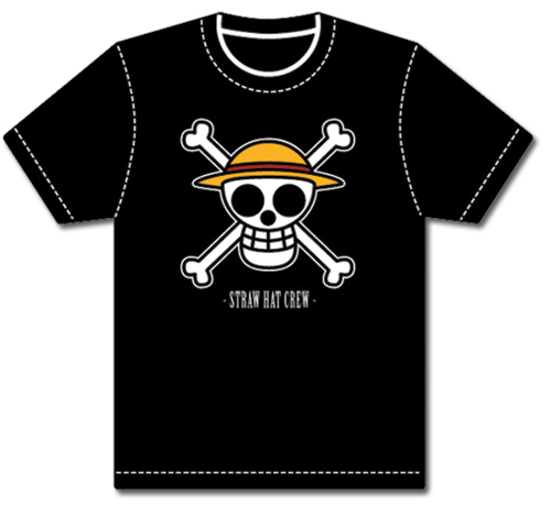 One Piece Luffy's Flag T-Shirt L, an officially licensed product in our One Piece T-Shirts department.