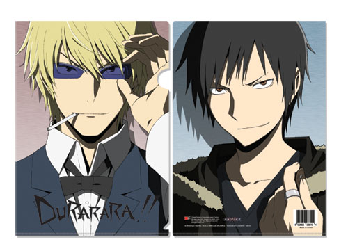 Durarara!! Izaya& Shizuo File Folder (5 Pcs Pack), an officially licensed Durarara!! product at B.A. Toys.