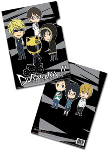 Durarara!! Group File Folder (5 Pcs Pack), an officially licensed Durarara Binder/ Folder
