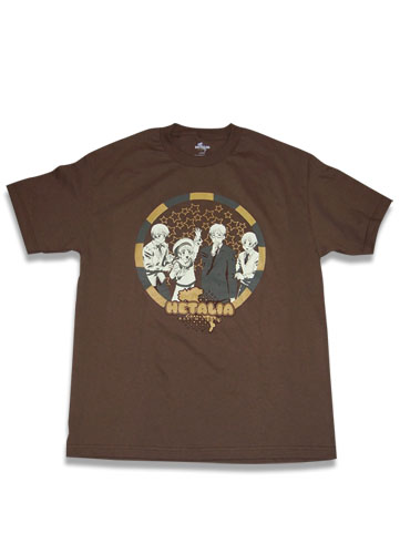 Hetalia World Series Group T-Shirt L, an officially licensed product in our Hetalia World Series T-Shirts department.