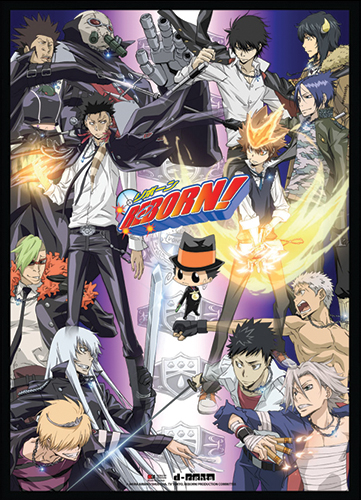 Reborn! - Group Wall Scroll, an officially licensed product in our Reborn! Wall Scroll Posters department.