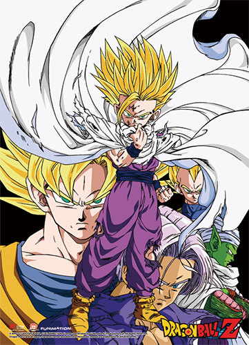 Dragon Ball Z - Gohan Group Wall Scroll officially licensed Dragon Ball Z Wall Scroll Posters product at B.A. Toys.
