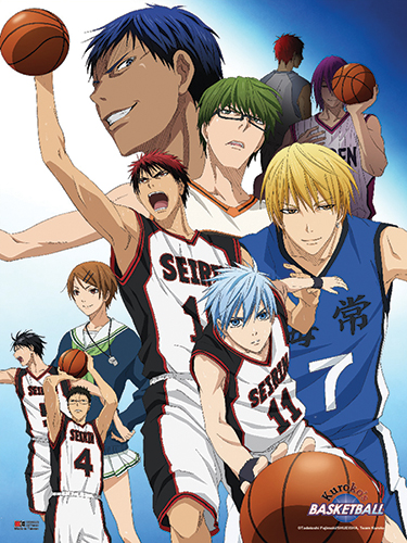 Kuroko's Basketball - Group 2 Wall Scroll, an officially licensed product in our Kuroko'S Basketball Wall Scroll Posters department.