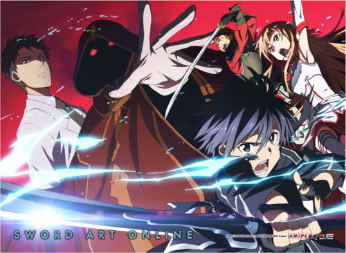 Sword Art Online - Group 3 Wallscroll officially licensed Sword Art Online Wall Scroll Posters product at B.A. Toys.