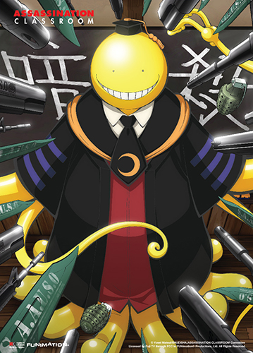 Assassination Classroom - Key Art 2 Wall Scroll, an officially licensed product in our Assassination Classroom Wall Scroll Posters department.