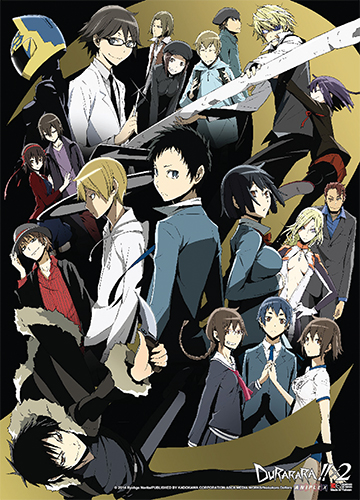 Durarara!! X2 - Key Art Wall Scroll officially licensed Durarara!! Wall Scroll Posters product at B.A. Toys.