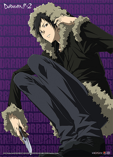 Durarara!!x2 - Izaya Wall Scroll officially licensed Durarara!! Wall Scroll Posters product at B.A. Toys.