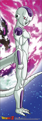 Dragon Ball Z - Frieza Human-size Wall Scroll officially licensed Dragon Ball Z Wall Scroll Posters product at B.A. Toys.