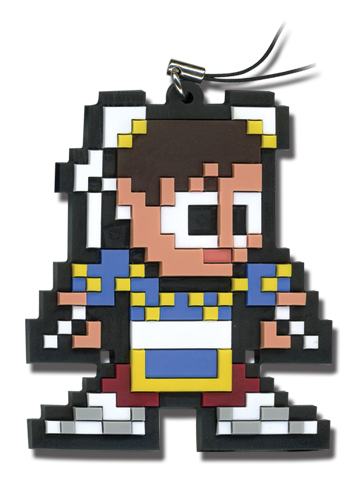 Super Street Fighter Iv 8Bit Chun-Li Cellphone Charm, an officially licensed product in our Super Street Fighter Costumes & Accessories department.