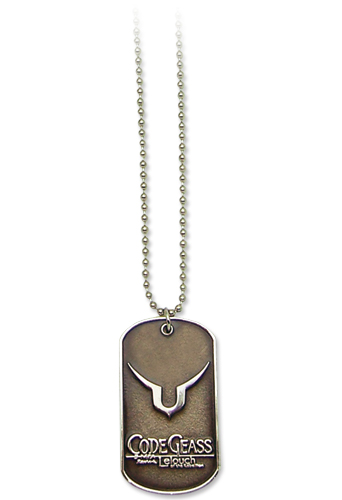 Code Geass - Lelouch Dog Tag Necklace, an officially licensed product in our Code Geass Jewelry department.