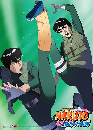 Naruto Shippuden - Rock Lee & Mighty Guy Wall Scroll, an officially licensed product in our Naruto Shippuden Wall Scroll Posters department.