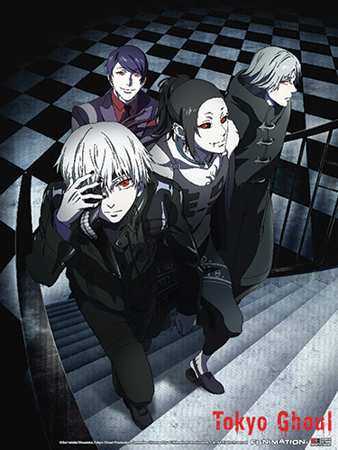 Tokyo Ghoul - Group 01 Wall Scroll officially licensed Tokyo Ghoul Wall Scroll Posters product at B.A. Toys.