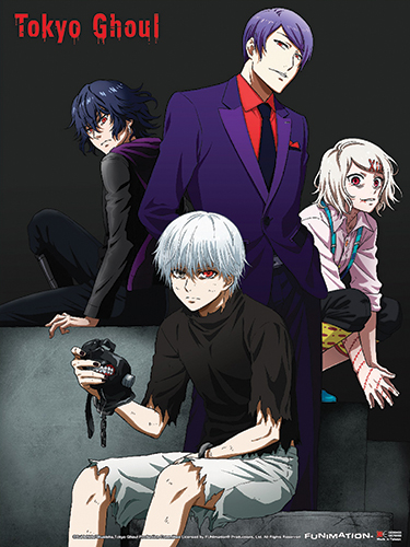Tokyo Ghoul - Group 02 Wall Scroll officially licensed Tokyo Ghoul Wall Scroll Posters product at B.A. Toys.