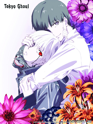Tokyo Ghoul - Kaneki 02 Wall Scroll officially licensed Tokyo Ghoul Wall Scroll Posters product at B.A. Toys.