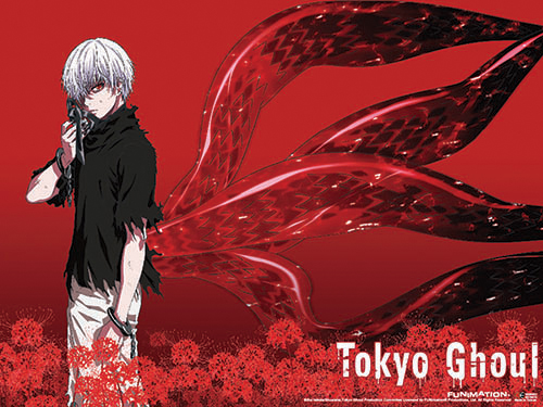 Tokyo Ghoul - Kaneki 03 Wall Scroll officially licensed Tokyo Ghoul Wall Scroll Posters product at B.A. Toys.