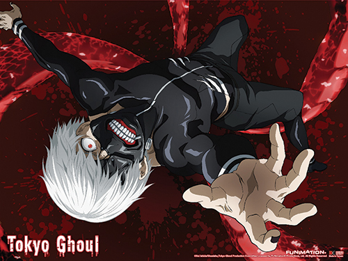 Tokyo Ghoul - Kaneki 04 Wall Scroll officially licensed Tokyo Ghoul Wall Scroll Posters product at B.A. Toys.