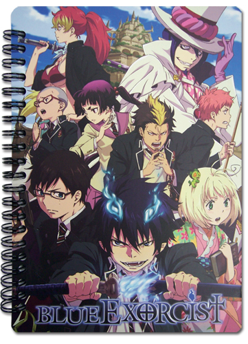 Blue Exorcist Keyart Notebook, an officially licensed Blue Exorcist product at B.A. Toys.