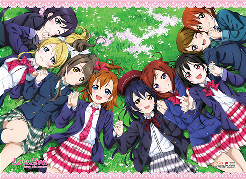 Love Live! - Group 02 Wallscroll, an officially licensed product in our Love Live! Wall Scroll Posters department.