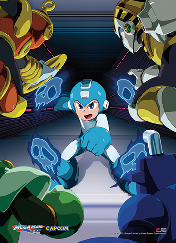 Megaman Classic - Group 05 Wall Scroll, an officially licensed product in our Mega Man Wall Scroll Posters department.