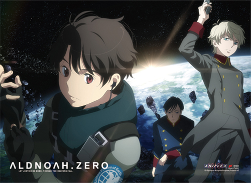 Aldnoah Zero - Group 01 Wall Scroll, an officially licensed Aldnoah Zero product at B.A. Toys.